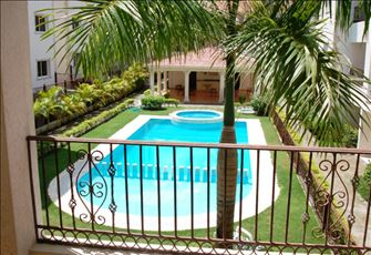 3 Bedrooms 2 Bathrooms Apartment, Garden View and Pool