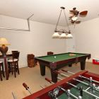 Games Room with Pool Table, Foosball, Nba Championship Basketball Challenge, Xbox 360, Led Tv with Cable and Sonos Music Speakers.