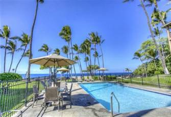A Great Condo in an Oceanfront Complex in Kona Hawaii