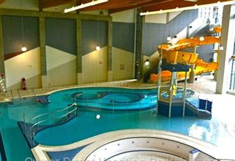 Interior Pool and Slide