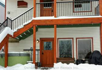Recently Renovated Premium 2 Bedroom/2 Bath Slopeside Condo with Private Hot Tub