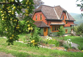 Luxirious Eco Suite 10 Min from Nelson on Organic Farm