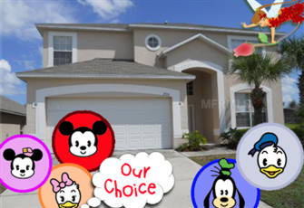 Fall Special. 3 Miles to Disney - 7br(4 King)/5.5ba - Sleeps 20