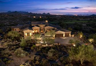 Luxury Desert Mountain Golf Villa in Scottsdale Arizona