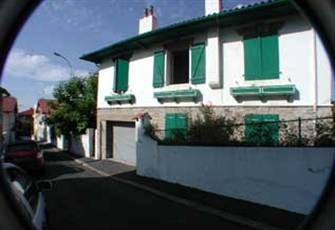 House in Biarritz near the