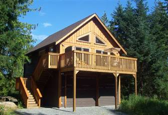 Private West Coast Cedar Cabin