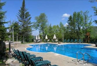 Only 4 Star Tremblant Resort with 2 Pools and Tennis!
