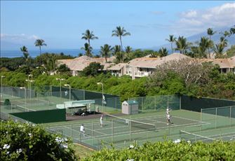 Wailea Tennis Club is Less than a Five Minute Walk