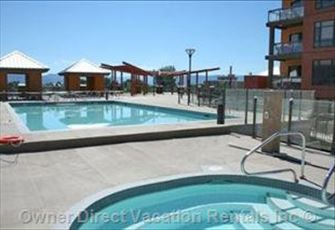 New 2 Bedroom Luxury Condo by Okanagan Lake - Playa Del Sol Resort.