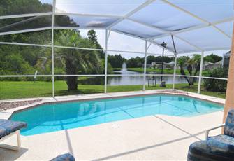 Pool Home with Lake View at a Budget, Close to Disney