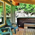 Enjoy the Hot Tub Or Relax in the Hammock Or Lounge Chairs Surrounded by the Serene Wilderness