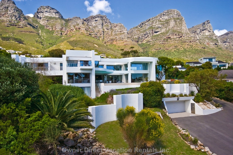 Hollywood Mansion, Camps Bay villa for rent