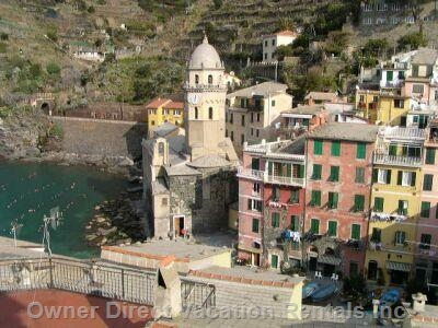 Apartment situated in the center of Vernazza with a nice sea view, ID#65690