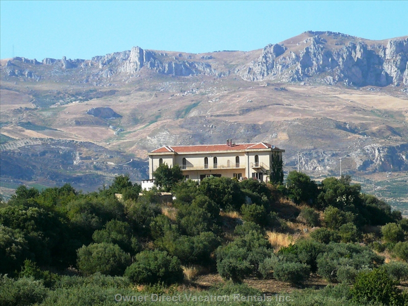 Villa on the hill of San Calogero overlooking Sciacca, ID#58520