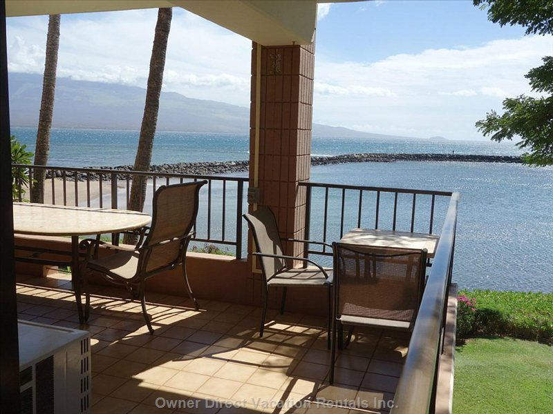 Spacious, Wrap-around Lanai for Relaxing and Taking in the Amazing Views.