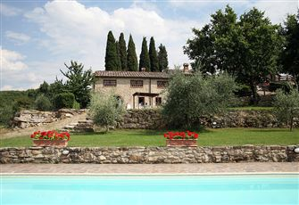 Charming Farm House on Chianti Hills with Swimming Pool