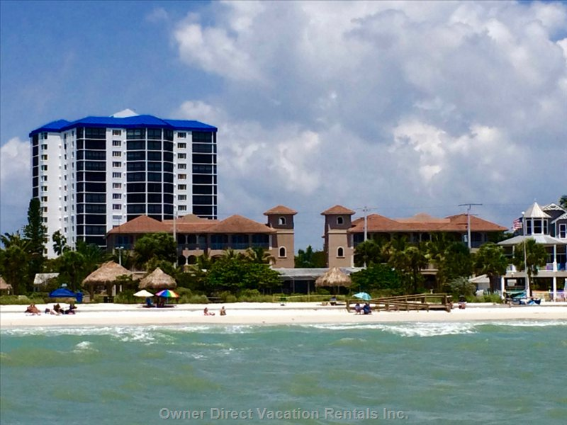 White Cap Beach Condos from the Gulf