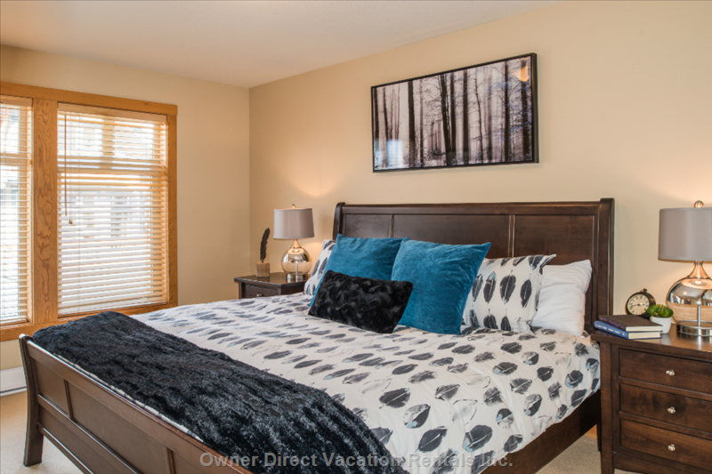 Large Second Bedroom  with King Bed!