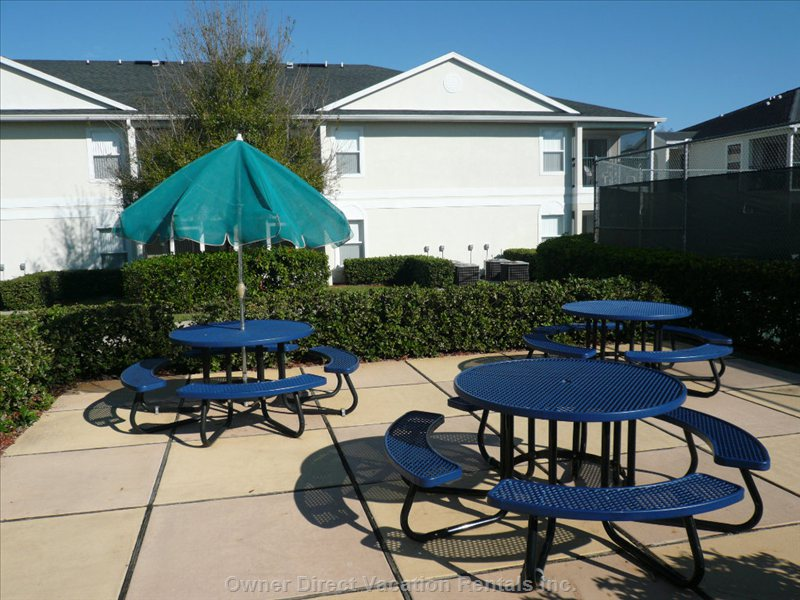 Picnic Tables and Grilling Area