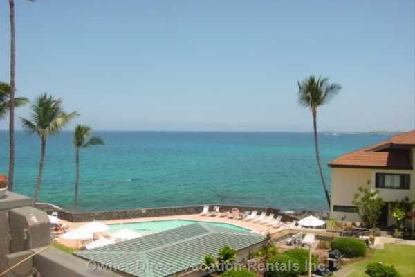 Beautiful View from our Kona Condo #81925