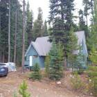 Another View of the Exterior, this one before the Snowfall, on Wood-Chopping Weekend.