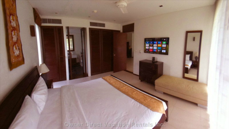 "Master Bedroom (Similar to, May Not be this Exact Unit) - 46-50"" Led TV, Internet TV, Full Hd Media Player."