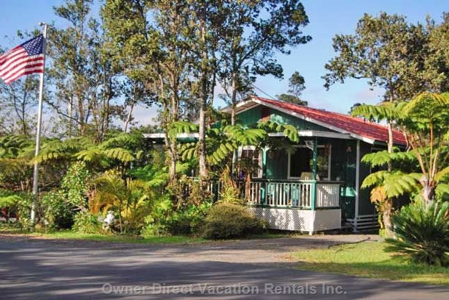 Big Island Cottage Rental #122395