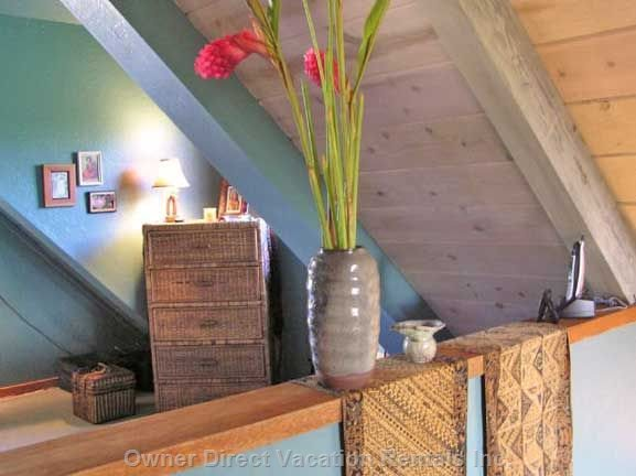 The Loft is Available for a Retreat Or for Extra Guests