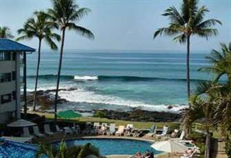 Kona Reef Top Floor Ocean View 1 Br Vacation Condo