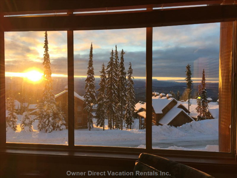 View from Living Room of Monashee Mountains