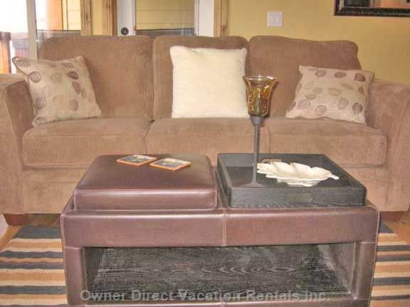 Comfy Couch in Lounge
