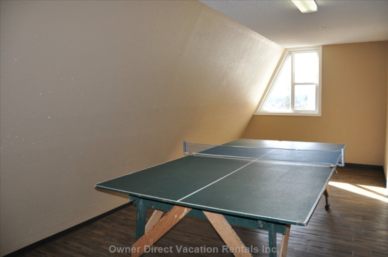 Building Games Room Ping Pong Table