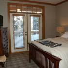 Master Bedroom #2  - Queen Bed, TV with DVD Player, Double French Doors Open to Deck Shared with other Master Bedroom