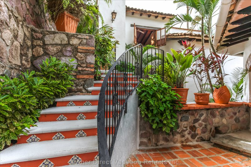 Entrance to the Casita with 2 Bedrooms