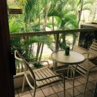 The Lanai - what a Great Place for Lunch after a Hard Day at the Beach