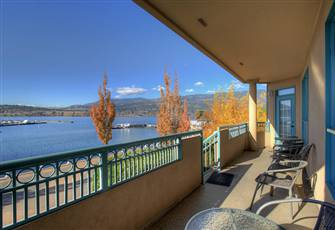 Walkout to the Boardwalk from this Stunning 2 Bedroom Lake View Condo