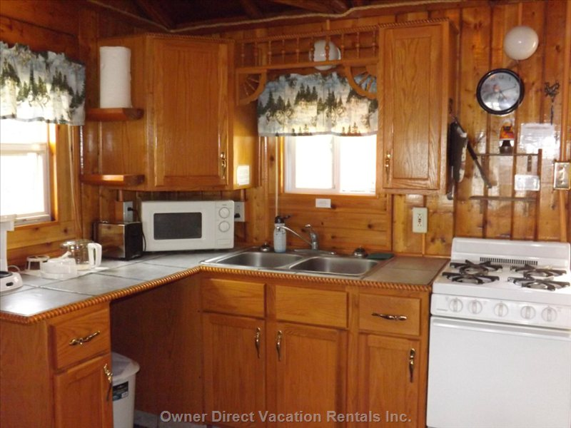 Completely Furnished Kitchens, with all your Pots and Pans Dishes , Stove ,Microwave, Full Refrig,