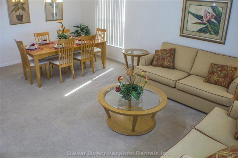 The Living Room and Formal Dining