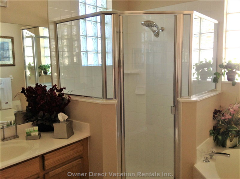 King Master En-Suite Bathroom Walk in Shower