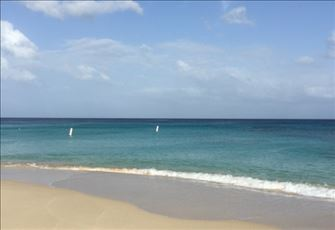Beach Front  2 Bedroom Apartment Close to Holetown