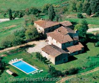 View of the Agriturism