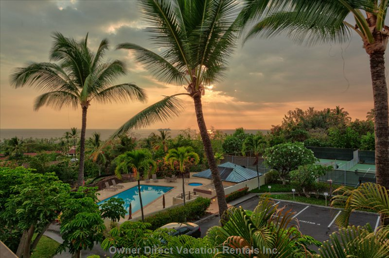 Gorgeous Ocean View Condo in Keauhou Resort area of Kailua Kona #123412