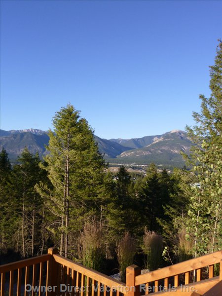 An Unobstructed View of the Valley from the Front Porch