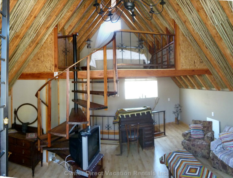 Loft Room  with Queen Sized Bed