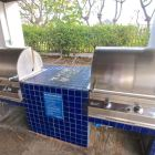Poolside Gas Barbecues