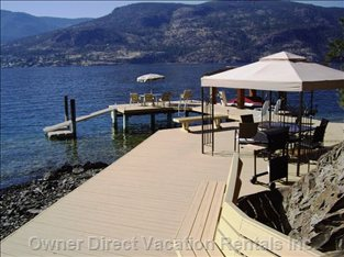 Kelowna Vacation House Rentals - Property ID 1724