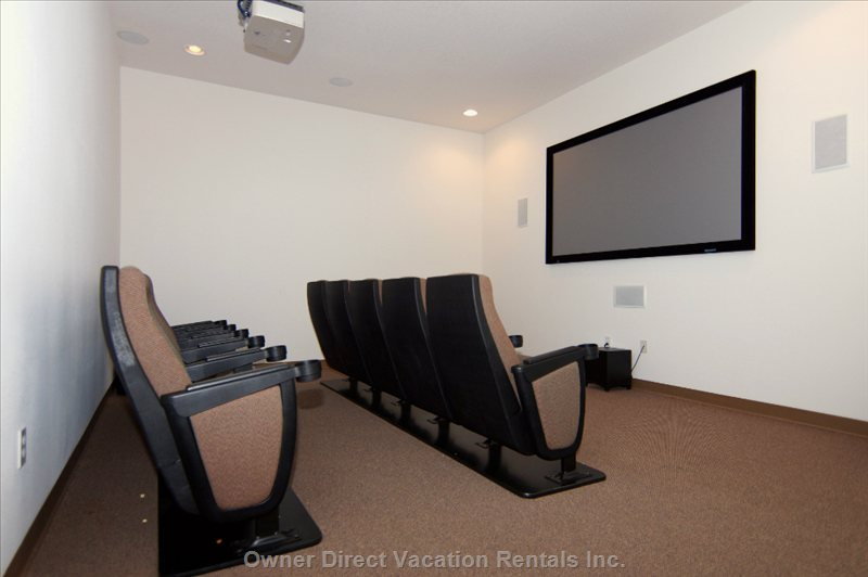 Big Screen Theater in Community Club House