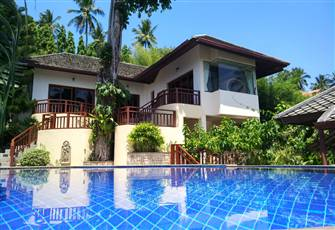 Koh Samui Villa - Beautiful Sea Sunset, Mountain Air, Private Pool.