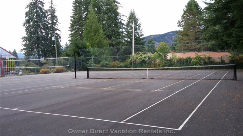 Pickle Ball and Tennis Courts 5 Minute Walk to the Community Centre
