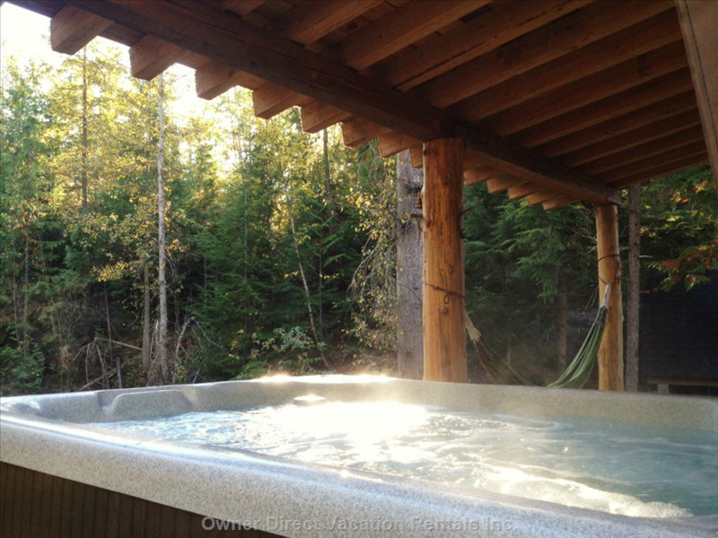 A Great View from the Hot Tub